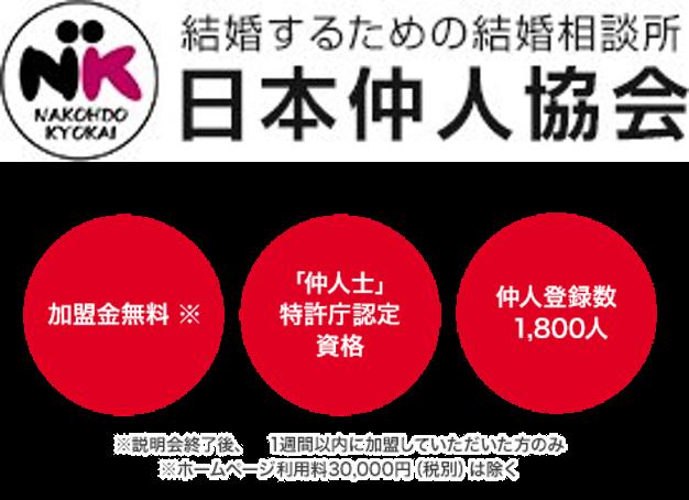 結婚相談所を始めるならサポート体制が充実の日本仲人協会で